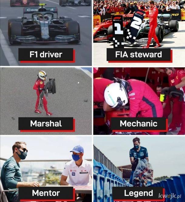 Sebastian Vettel - człowiek renesansu