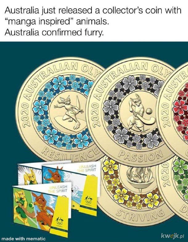 Furrasy przejmują australię