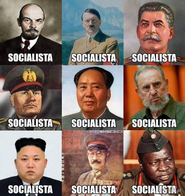 Najwybitniejsi lewicowi przywódcy