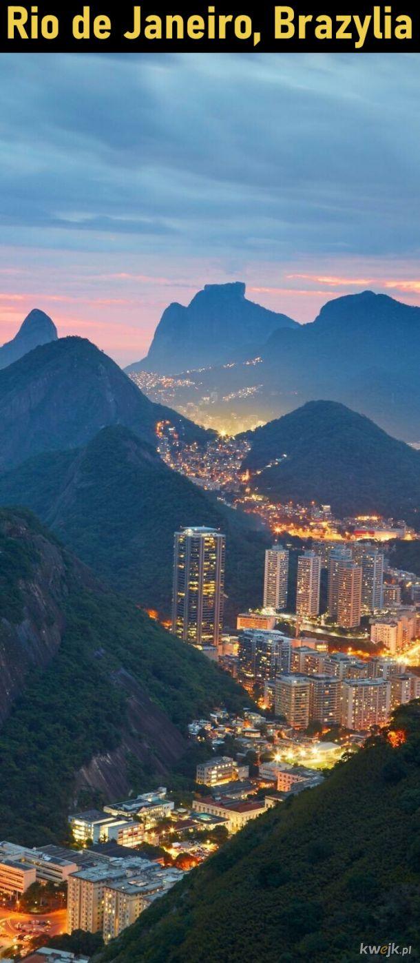 Piękne miejskie krajobrazy
