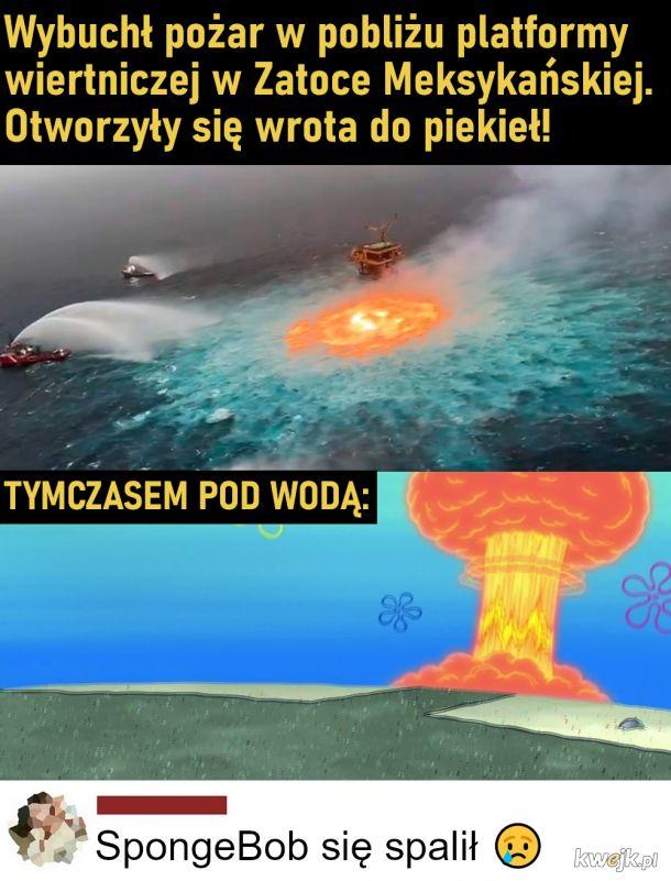 Rip SpongeBob :(