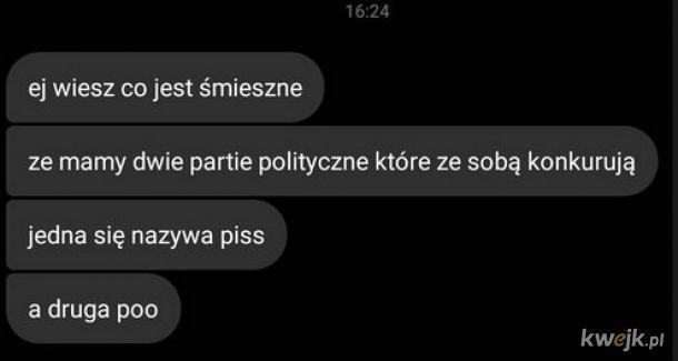 Dwie partie polityczne