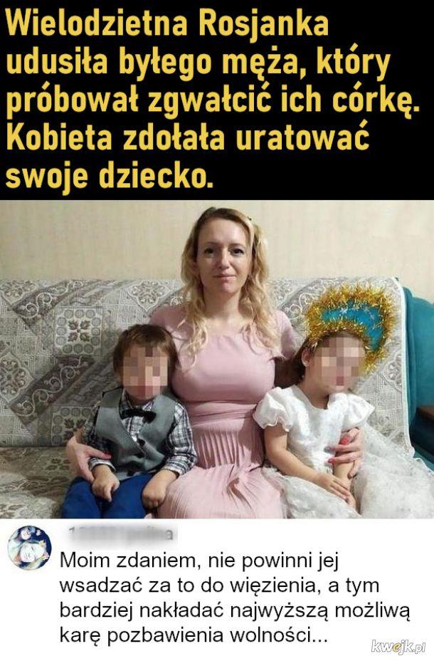 Uratowała swoją córkę przed byłym mężem