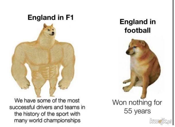 Anglicy przerzućcie się na F1