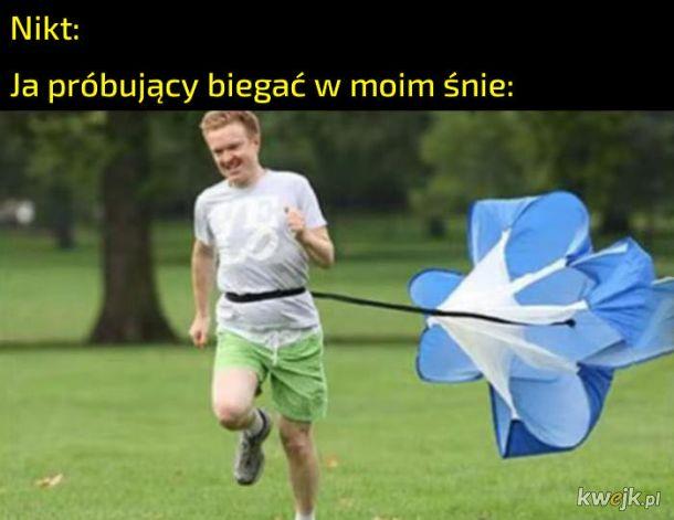 Bieganie w śnie