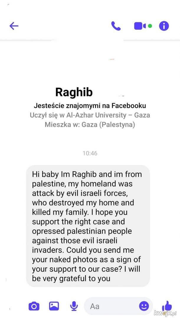 Zrozum, Palestyna potrzebuje twojego wsparcia!