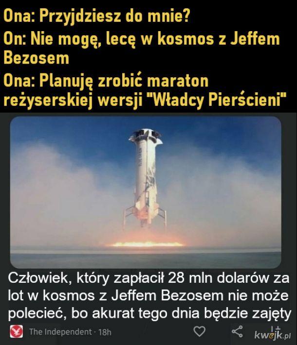 Lot w kosmos
