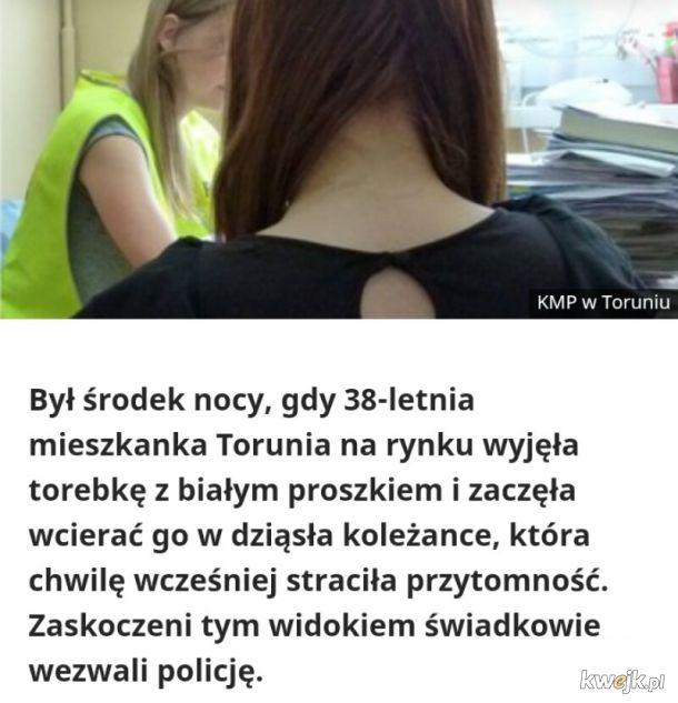 Do dziś krąży miejska legenda, że ta koleżanka musiała być z Bydgoszczy...