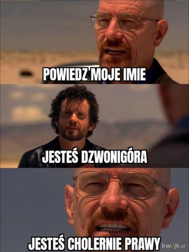 Say my name....