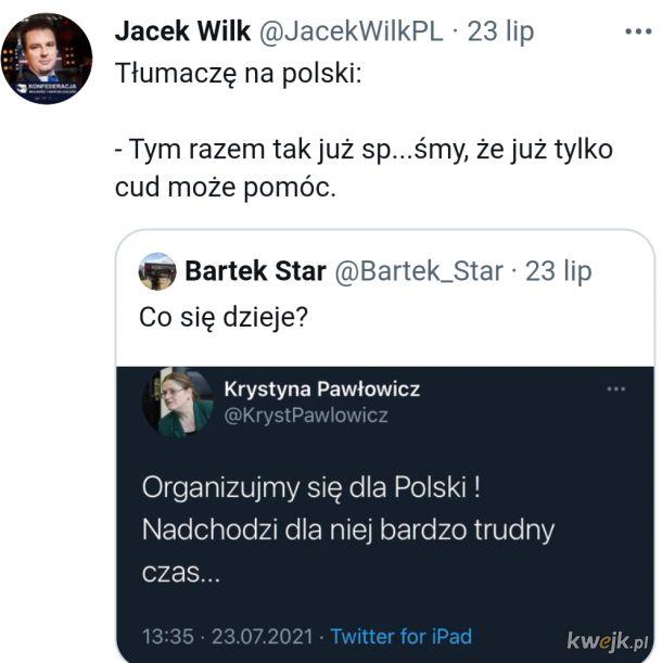 Żeby rozszyfrować co ma Pawłowicz na myśli to trzeba być nie lada kryptografem