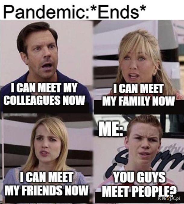 jakoś tak bez rożnicy z pandemią czy bez