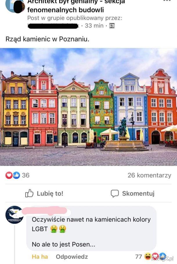 Gurwa, propaganda kolorów, tylko szare bloki