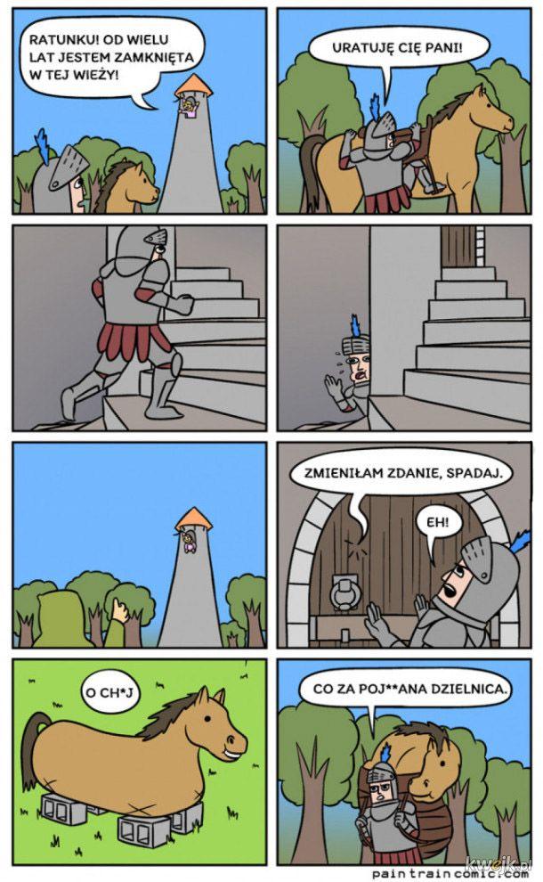 Księżniczka w wieży