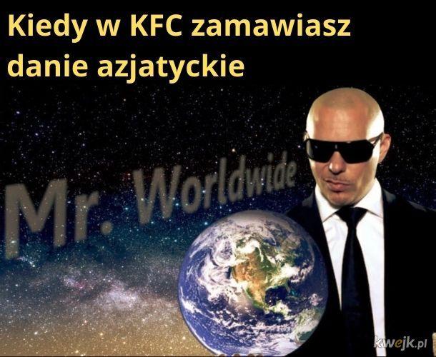Danie azjatyckie w KFC