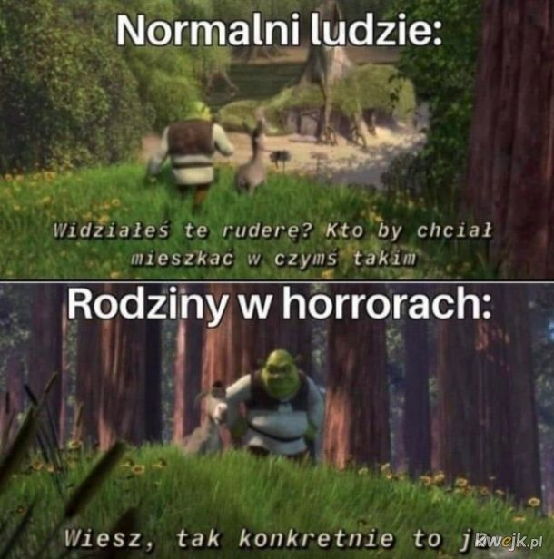 Domy w horrorach