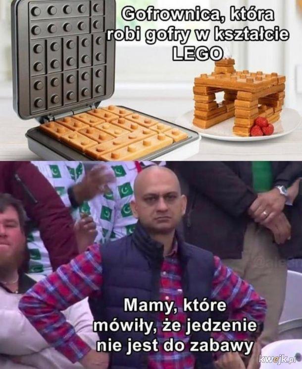Lego gofry