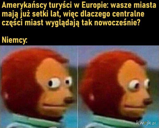 Amerykańscy turyści w Europie