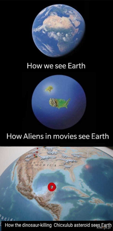 A może wszyscy tak widzą Ziemię?