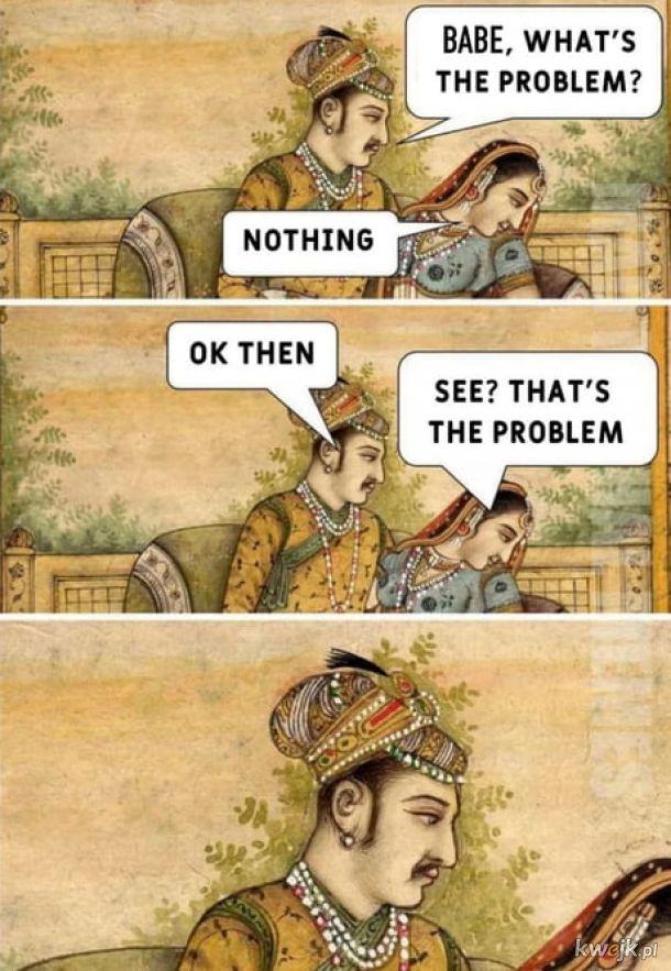 Starożytni mieli to samo.