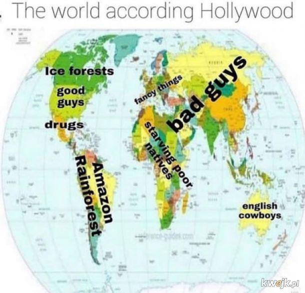 Tak własnie wygląda świat.