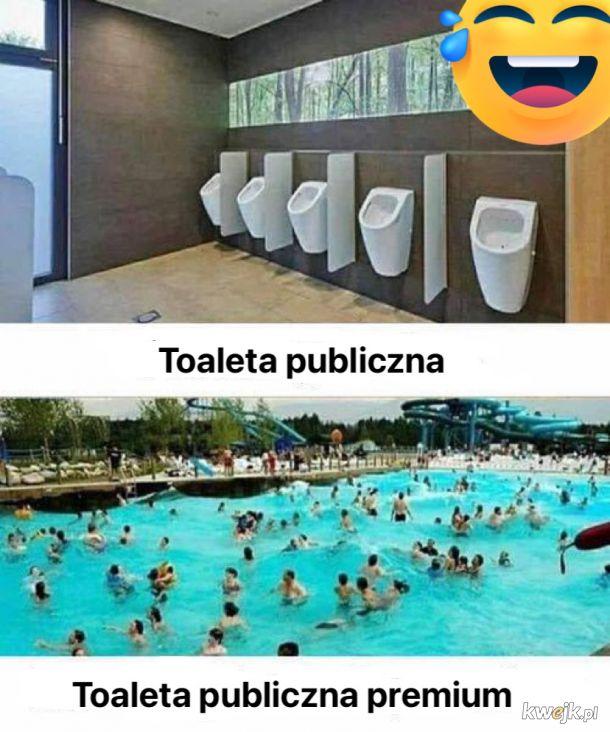 Toaleta publiczna premium