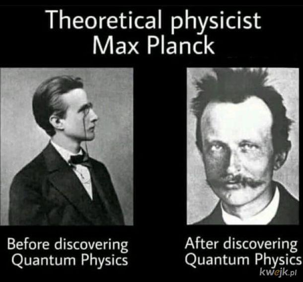 Fizyka kwantowa.
