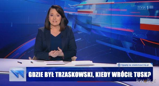 Gdzie był Trzaskowski?