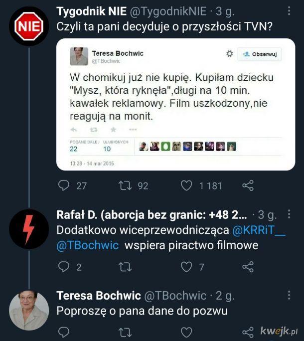 """Wiceprzewodnicząca KRRiT """"kupuje"""" filmy na chomiku"""