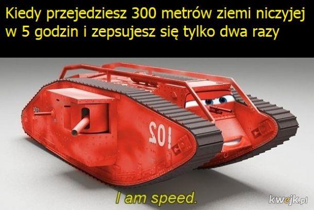 Jestem szybkość