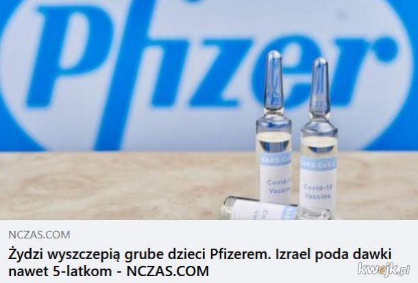 Grube, szczepione dzieci