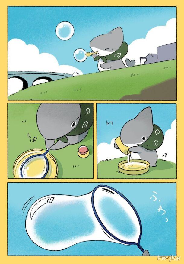 Gdy robisz bańki przez dmuchawkę w kształcie innym niż okrągły