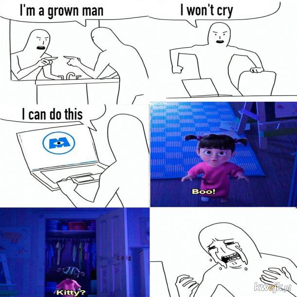 Nie będę płakał ;(
