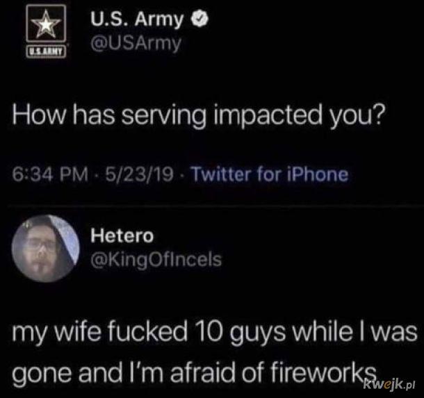 Służba nie drużba.