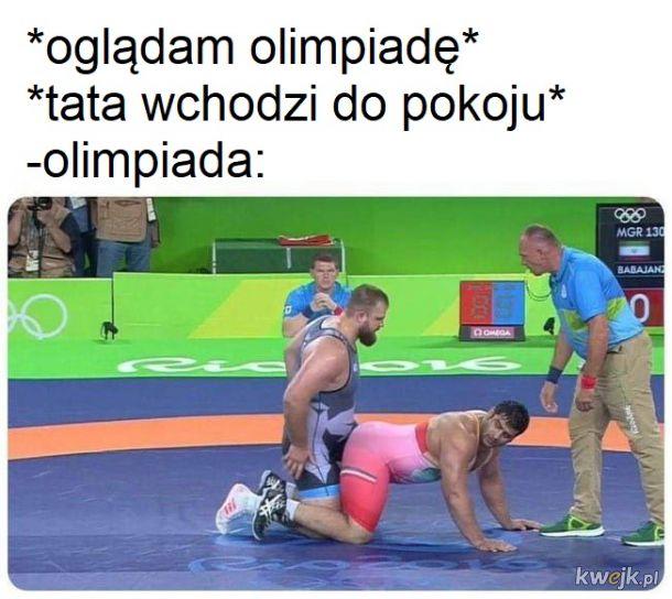 Olimpiada gdy wchodzą rodzice