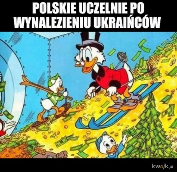 Polska mniejszość studencka w Poznaniu protestuje...