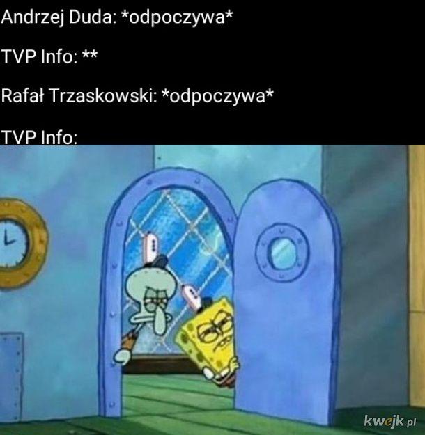 Andrzej Duda: *odpoczywa*