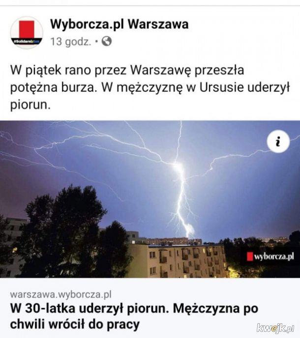 Potężna  burza