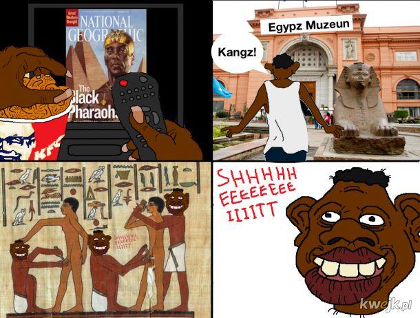 Mieli ułańskie fantazje ci Egipcjanie