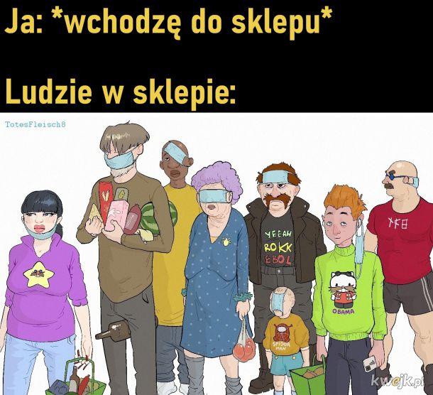 Ludzie w sklepie