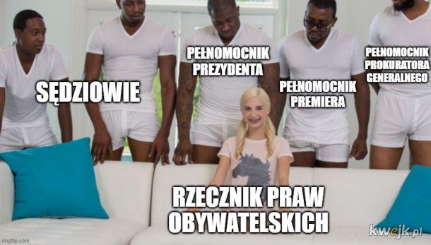 Aktualnie w Trybunale Konstytucyjnym pani Przyłębskiej