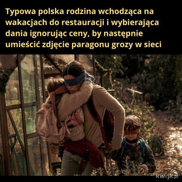 Typowe zachowania polskiego turysty