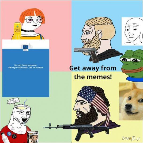 """""""Left can't meme"""""""