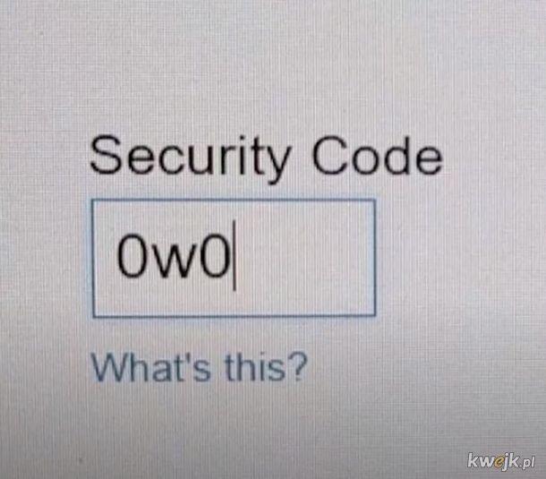 Kod bezpieczenstwa.