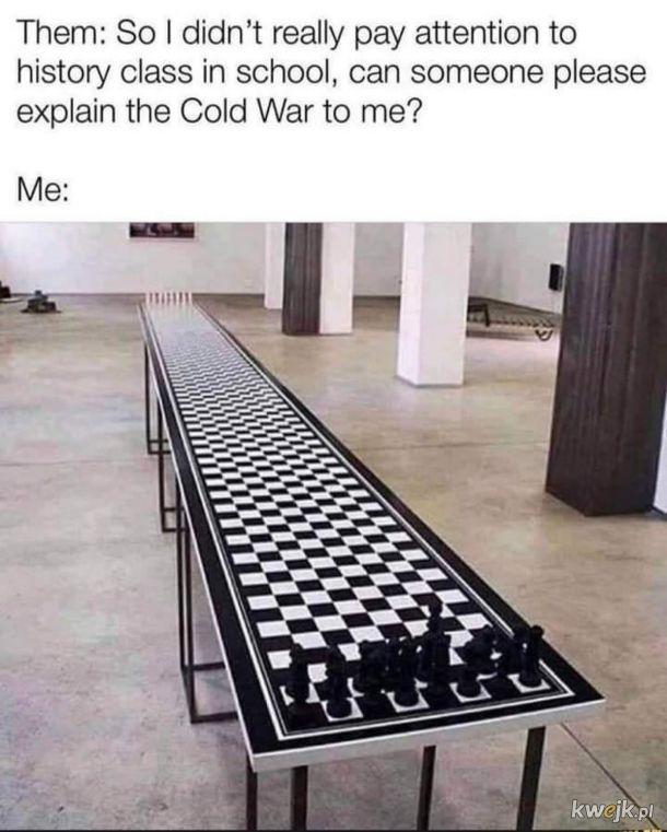 Zimna Wojna na jednym obrazku.