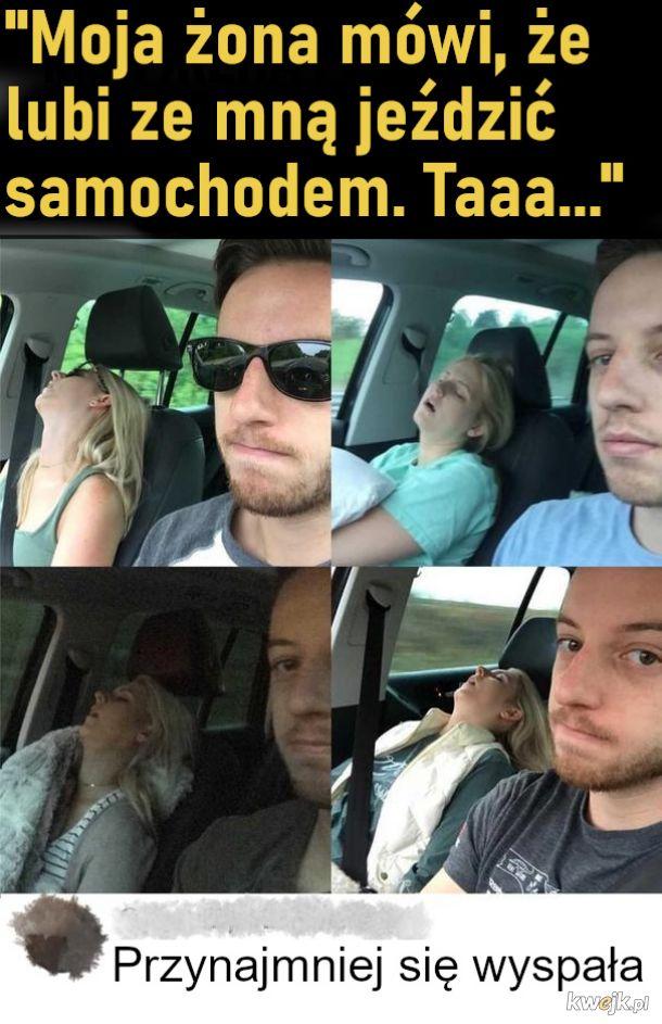 Podróżowanie z mężem