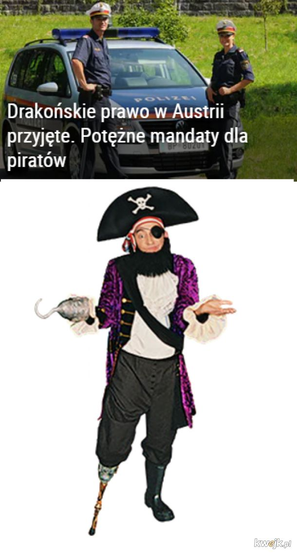 Ciężkie życie pirata