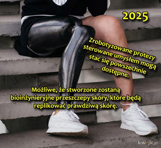 Rzeczy, które mogą wydarzyć się przed 2050 rokiem