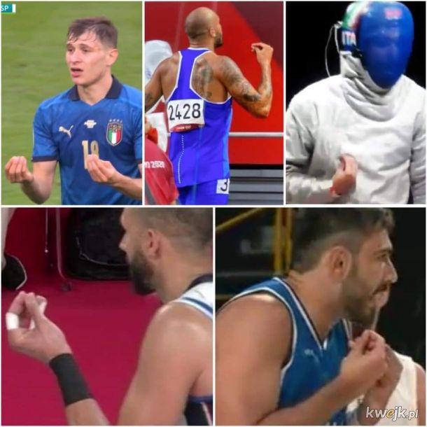 Wiesz, że to Włosi bez patrzenia na barwy narodowe