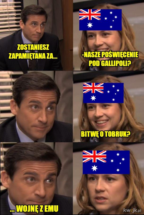 Unia Australijska słynie z ...