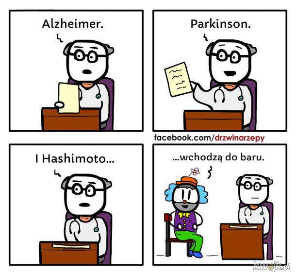 A u Was jak ze zdrowiem?
